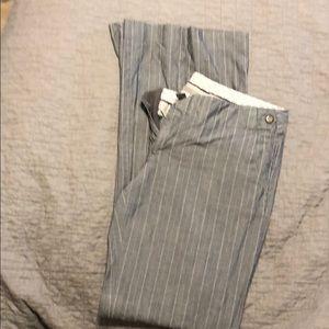 Gap dress pants. Flared leg. Size 4 LONG.